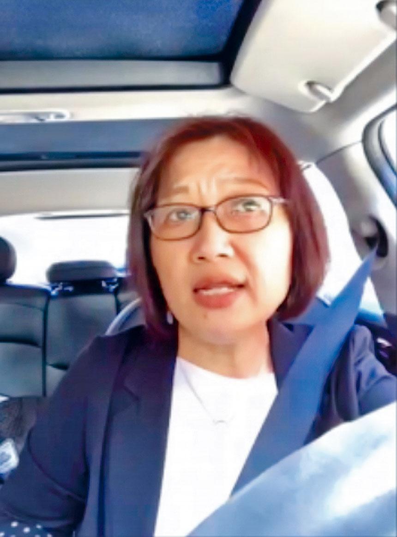 圖為馬州眾議員齊麗麗女士。