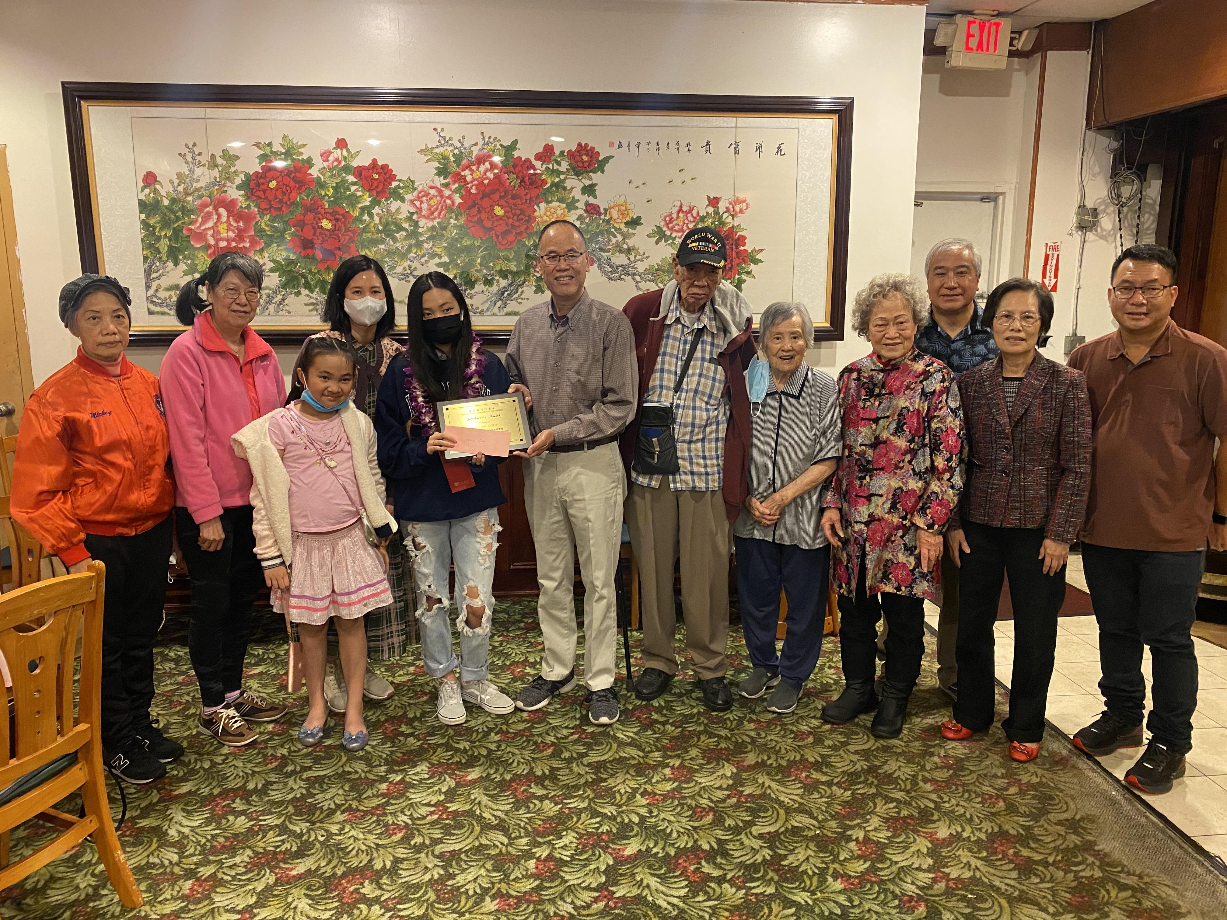 羅省岡州保安堂4月24日舉行獎學金頒獎典禮。