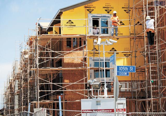 加州可負擔房屋危機嚴重。美聯社資料圖片