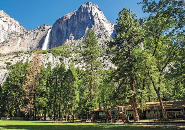 優山美地公園今夏限制遊人數量,遊客須提前預約。美聯社