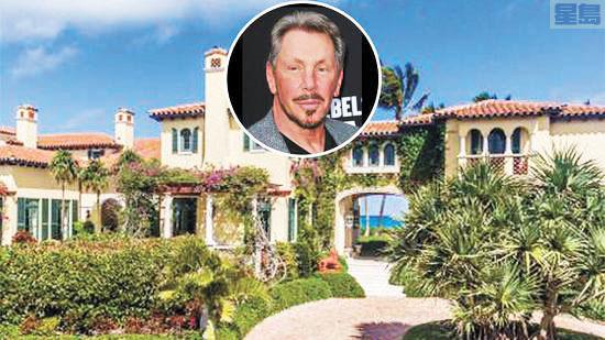 埃里森表示打算拆掉最近花8000萬美元買的佛州棕櫚灘豪宅。網上圖片