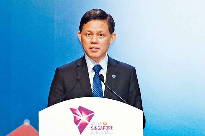 貿工部長陳振聲。