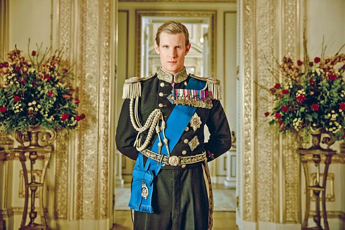 在《王冠》中扮演年輕版菲臘親王的Matt Smith,讚菲臘親王是真男人。