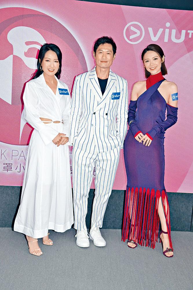 黃德斌與陳倩揚(左)、倪晨曦齊做嘉賓。