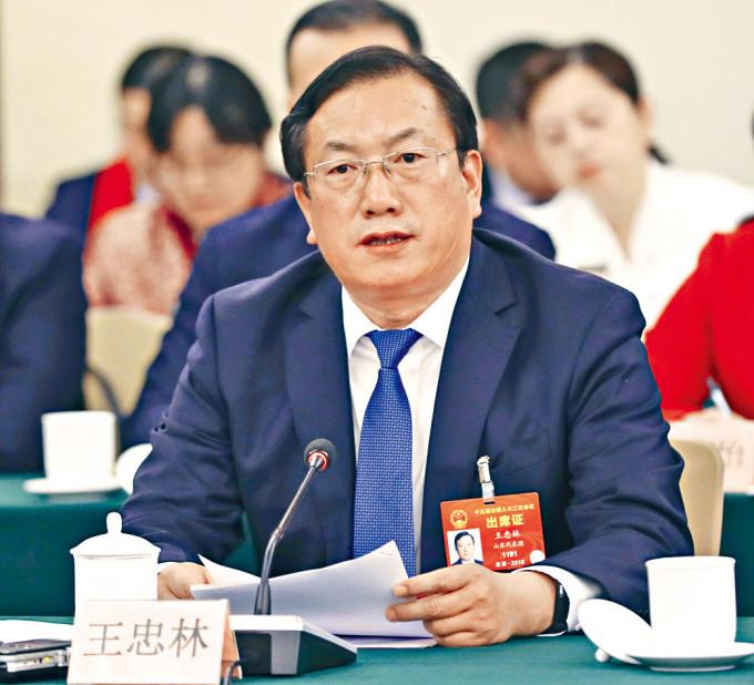 將出任湖北省長的王忠林。