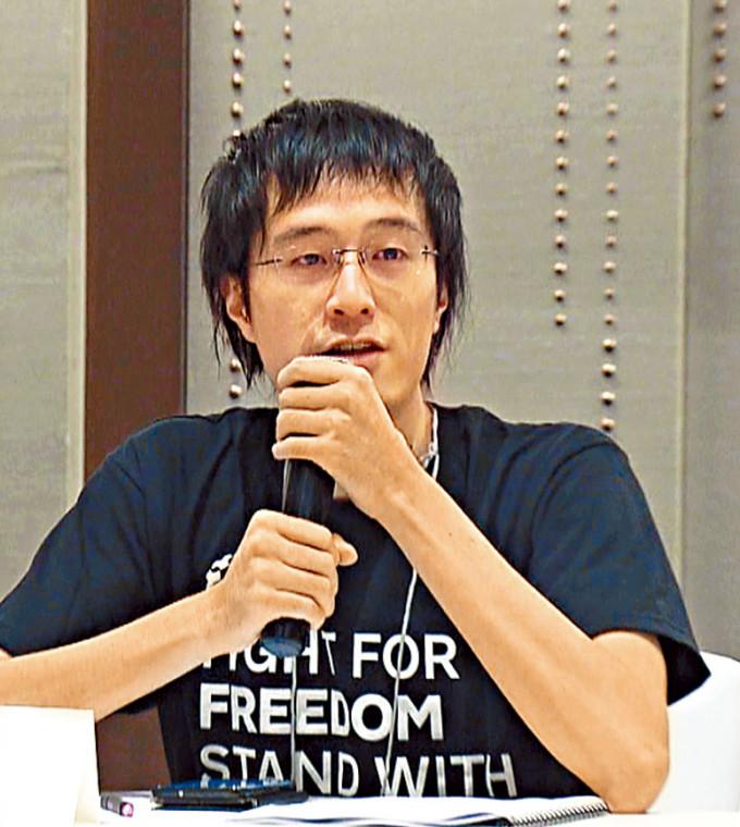 李宇軒回港後首度出庭。