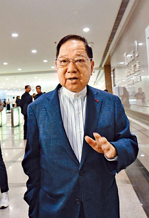 會德豐地產主席梁志堅表示,發展商規劃啟德發展區內用地會花上心思。