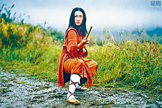 《功夫》連續劇亞裔演員梁安平。