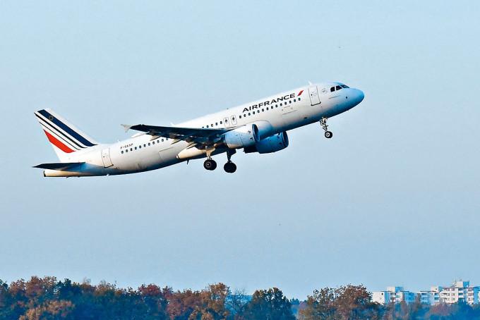 法國航空公司客機。