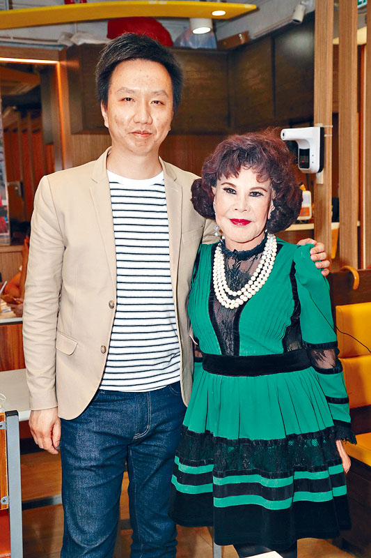 黃夏蕙昨日邀請黃守東做網絡節目嘉賓。