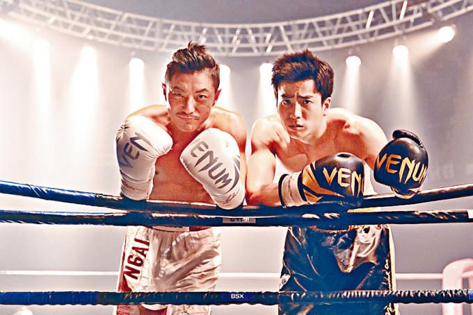 周國賢主演的《一秒拳王》上映廿多天成績不俗。