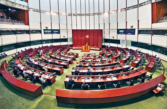 立法會選舉將在新制度下進行。