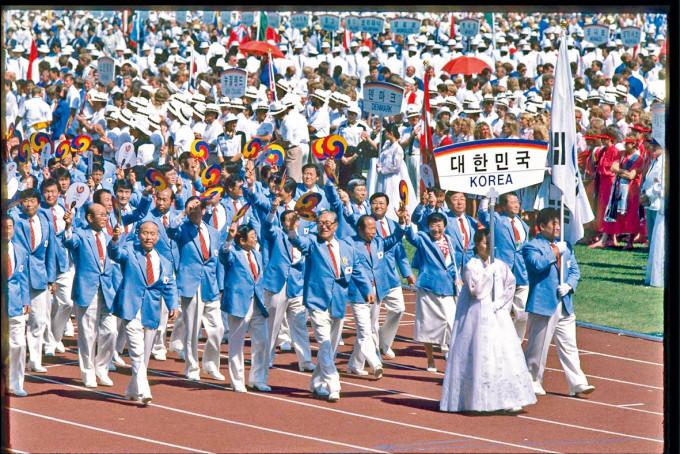 一九八八年漢城奧運南韓代表隊。