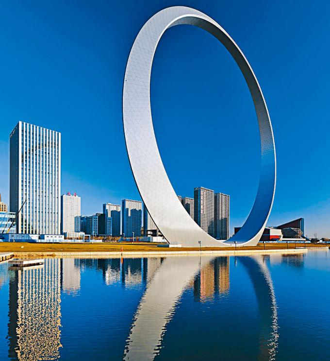「生命之環」是遼寧省地標建築。