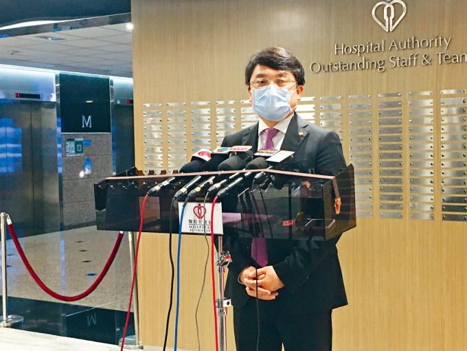 醫管局聯網服務總監楊諦岡預告,局方下半年將擴展多項公私營協作計畫。