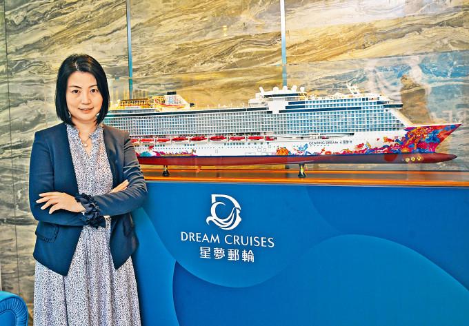 雲頂郵輪李鳳霞表示,已向政府表達意願,冀能夠趕及暑假檔期前復航。