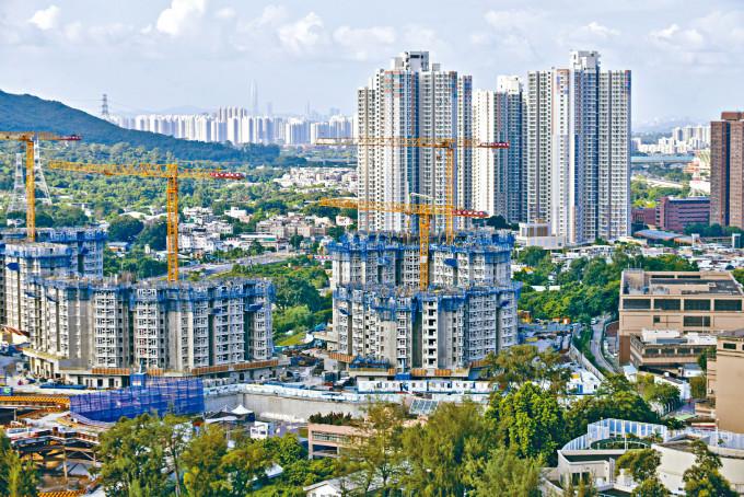 團結香港基金指未來五年公私營房屋供應將持續落後。
