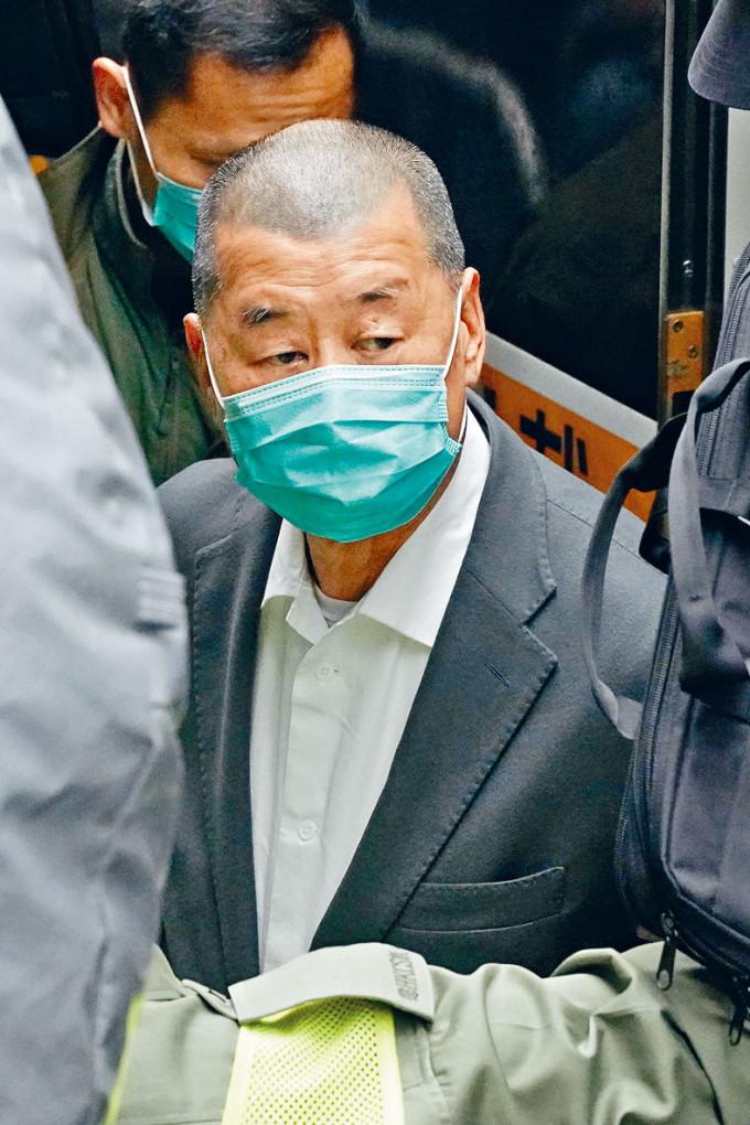 壹傳媒黎智英亦認罪,三人待下周五判刑。