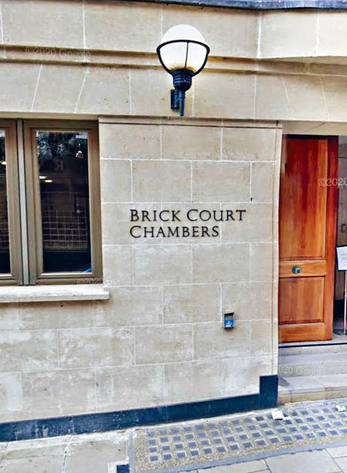 終審法院前首席法官馬道立卸任短短三個月,即加入英國倫敦 Brick Court Chambers。