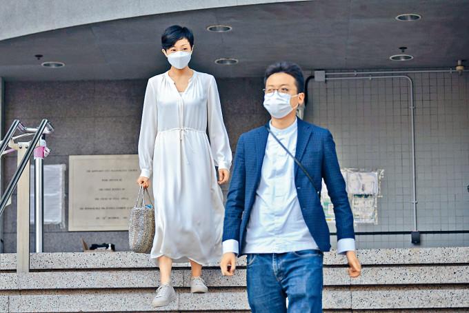 前立法會議員陳淑莊及中小企食店聯盟召集人林瑞華涉違限聚令,被裁定表證成立。
