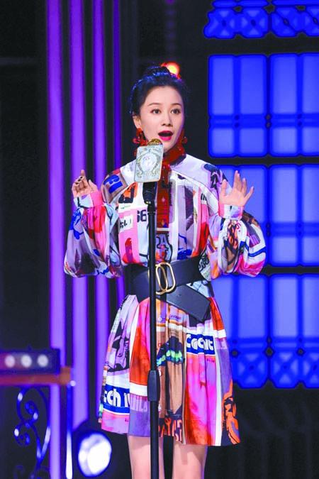 ■倪虹潔講述自己因嚴厲的家庭教育導致不自信。 網上圖片