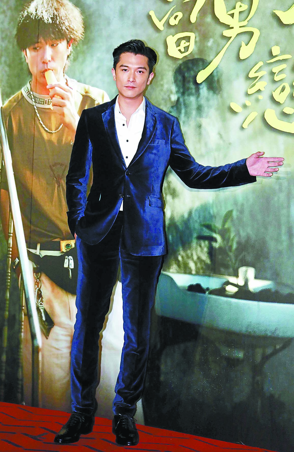 ■第23屆台北電影節15日宣布,邱澤將擔任影展大 使。 中通社