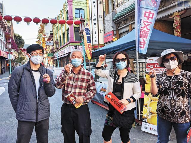 由立祉基督基金會捐增的電子警報器,希望可以協助華埠治安為遊客帶去安全感。圖片由受訪者提供