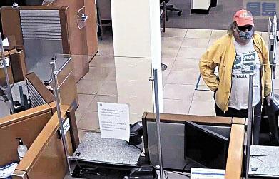 安德森去年11月7日打劫三藩市一家富國銀行。聯邦法庭