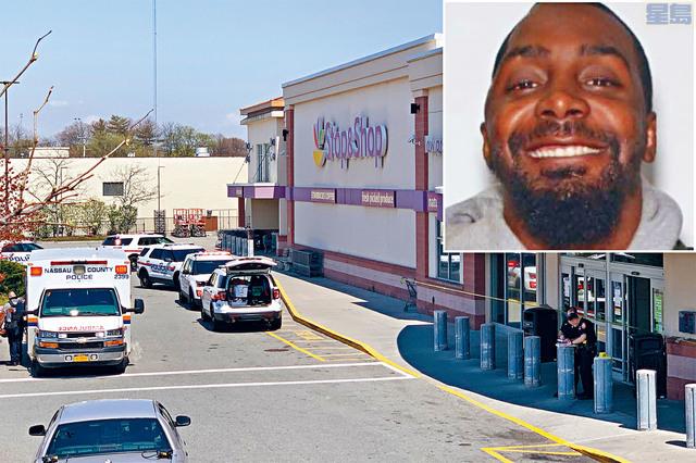 ■31歲非裔嫌犯威爾遜(圖)在涉案的Stop & Shop超市,向3名辦公室同事開槍,造成1死2傷。    網上圖片