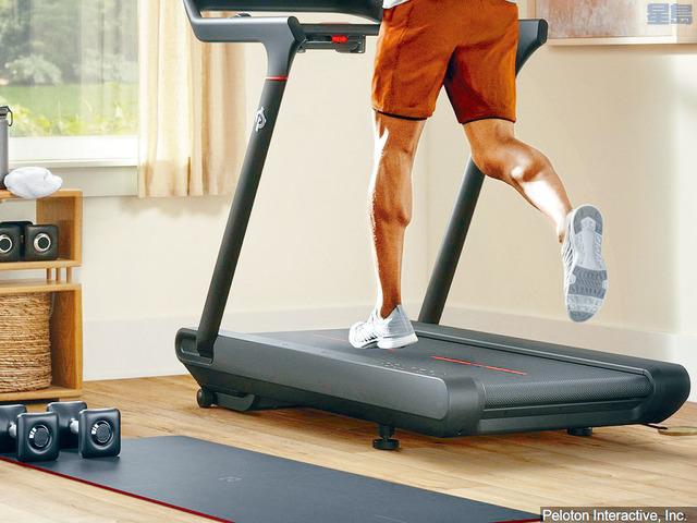 健身用品公司Peloton出產的一款跑步機,至今導致一名兒童死亡、近40人受傷。網上圖片