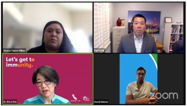 州政府官員、商界領袖以及社區倡導者們就COVID-19動態提供媒體互動機會 旨在為亞裔美國人及太平洋島民社區提供真實、可靠的訊息