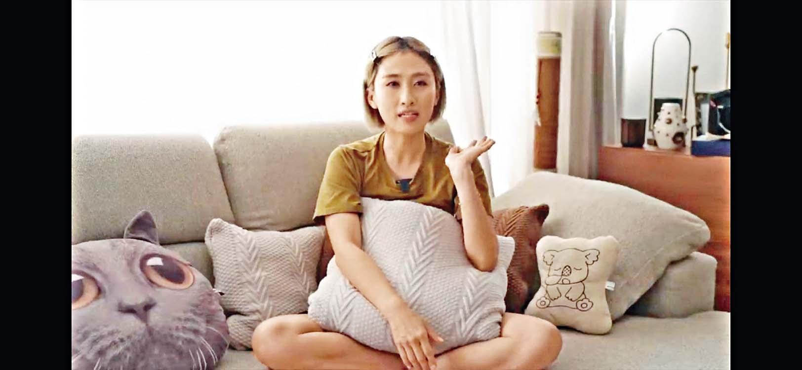 符曉薇去年因宮外孕致輸卵管爆裂,須緊急切除左邊輸卵管,之後她亦於社交網分享感受。