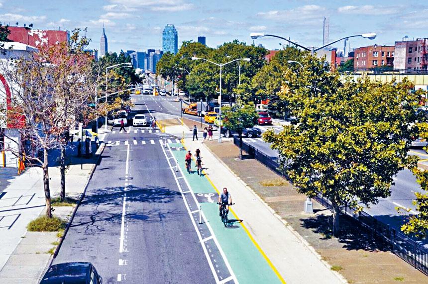 有「死亡之路」惡名的皇后大道從森林小丘的黃石大道至秋園的聯合大道一段道路劃出單車道和交通新規劃工程,將在7月開始動工。
