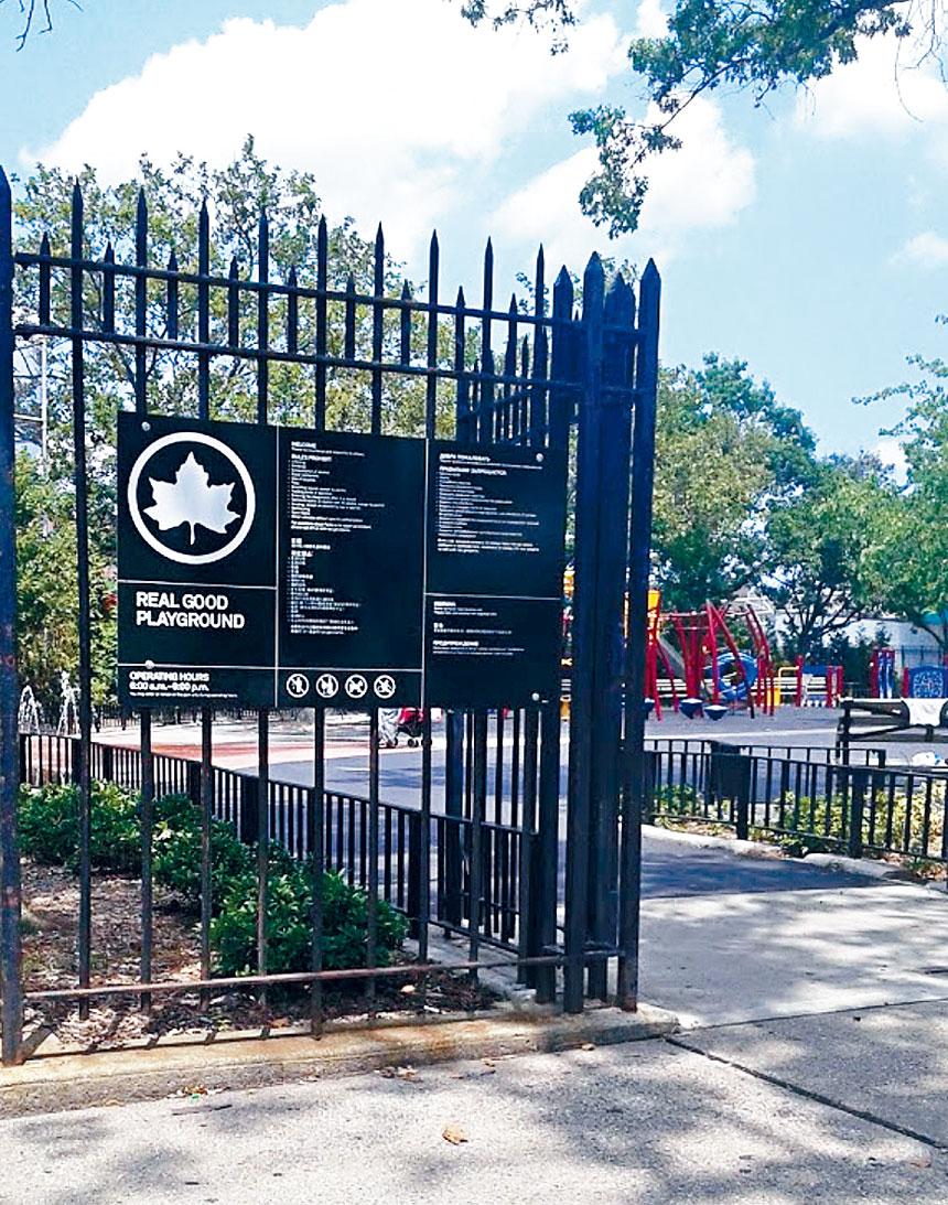 華青和同學在雷哥公園玩耍時,被2名白人和3名非裔青少年歧視和挑釁。