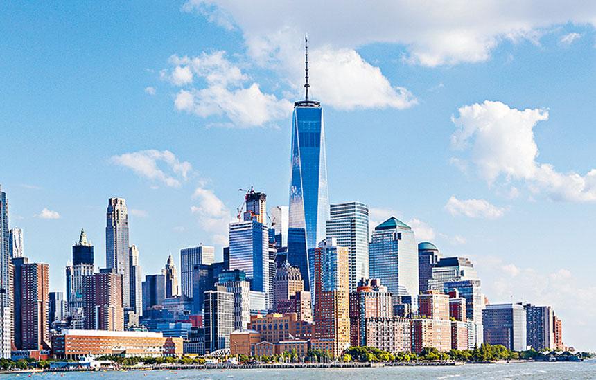鑑於聯邦經濟刺激計劃將有150億元流入紐約,穆迪上調紐約債務評級。資料圖片