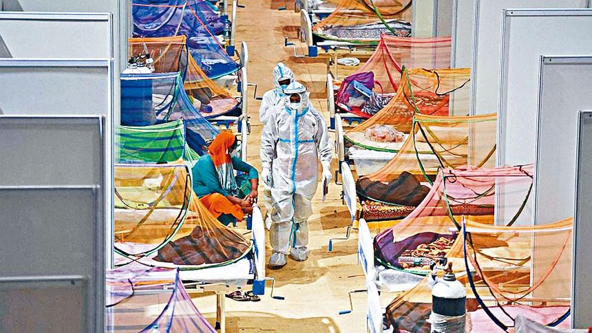 紐約市將向印度運送檢測盒、呼吸機等醫療用品。資料圖片