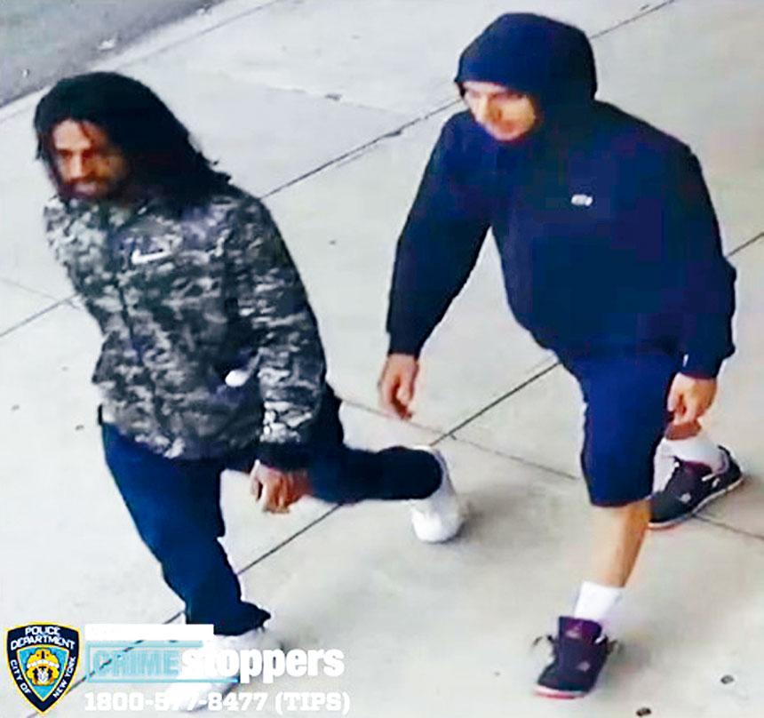 圖為涉案團伙。 圖源:NYPD