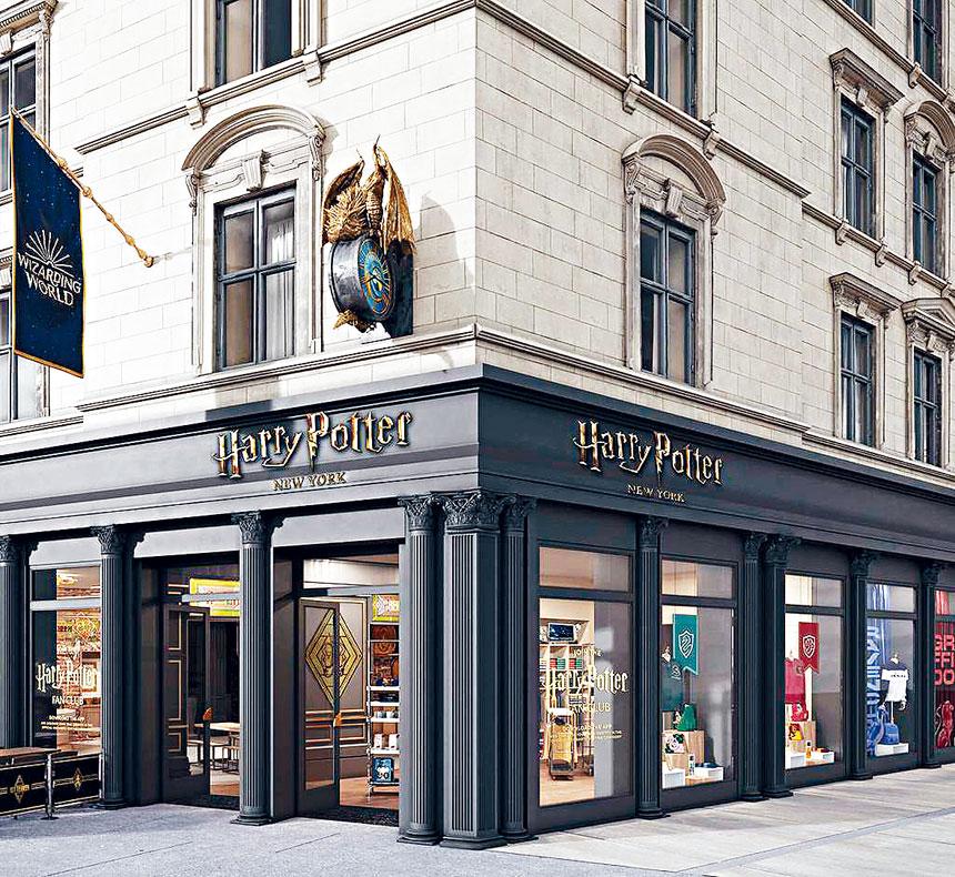 紐約哈利波特旗艦店即將在6月3日開放。