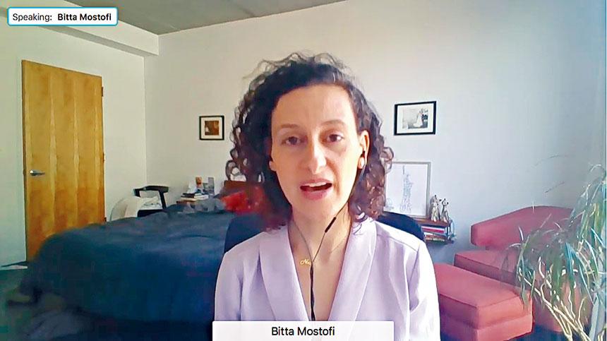 莫斯托菲介紹兩大移民法案如果通過,將對紐約市移民造成的影響。視頻截圖