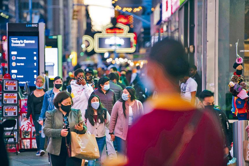 隨著限制措施放寬,街道人流量已逐漸恢復。Karsten Moran/紐約時報