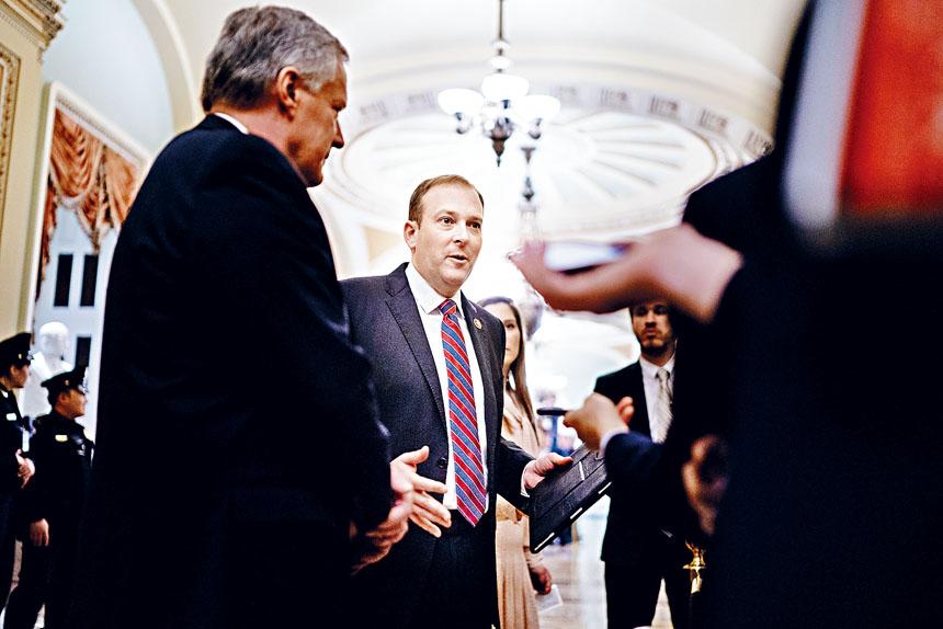 扎爾丁被視為共和黨初選熱門人物。Erin Schaff/紐約時報