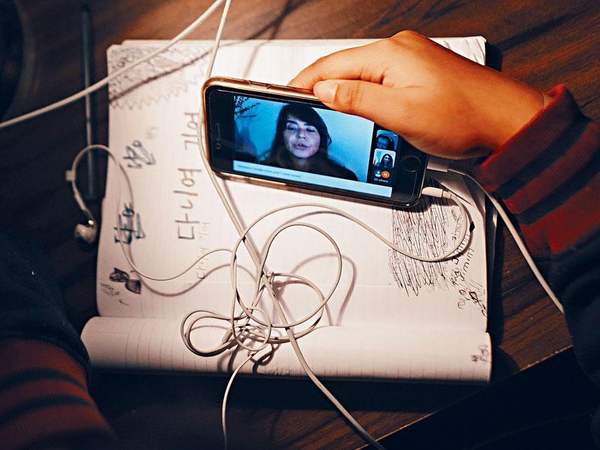 即使在城市,仍有逾一成學生無法上網學習。Ismail Ferdous/紐約時報