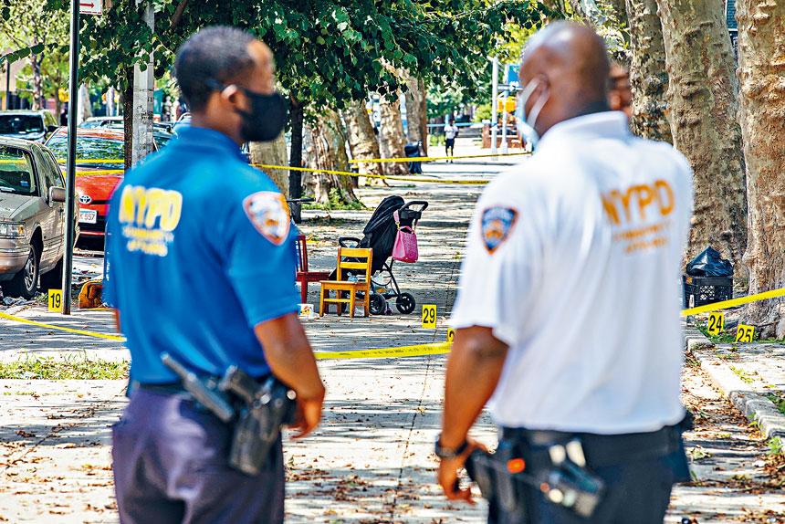 男孩加德納去年被殺事件,引起紐約市廣泛關注。Demetrius Freeman/紐約時報