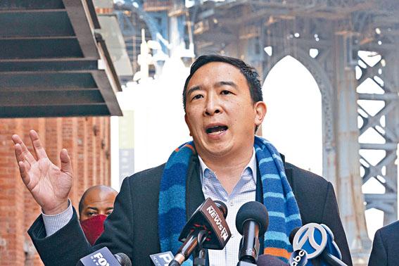 楊安澤在民調中重返領先位置。美聯社