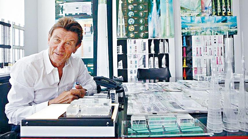 知名建設設計師漢爾姆詹恩不幸車禍喪生。