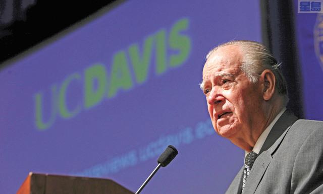 前加州最高法院法官里諾索2012年出席一場公開活動時攝。美聯社資料圖片