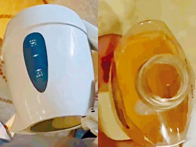 網紅主播向酒店水壺和沐浴露內撒尿。