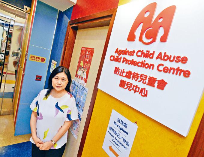 防止虐待兒童會總幹事黃翠玲憂慮,在疫情下更多虐兒個案未被發現。