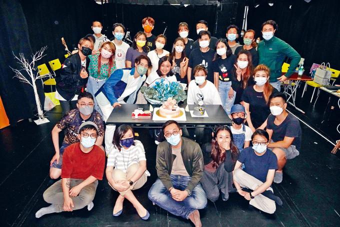 為了慈善音樂劇,陳明憙不介意生日都要綵排。