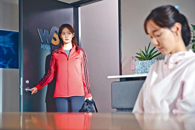 申敏兒在驚慄新片《夢魘》中展示其陰暗的一面。